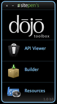 Dojo Toolbox Launcher Expanded