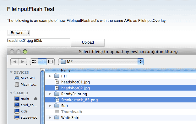 Deft Multi File Upload Shot