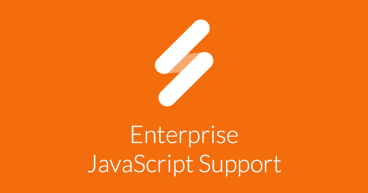 Enterprise JavaScript Support