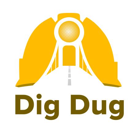 DigDug Logo