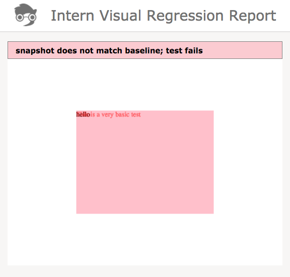 intern-visual-failing-report