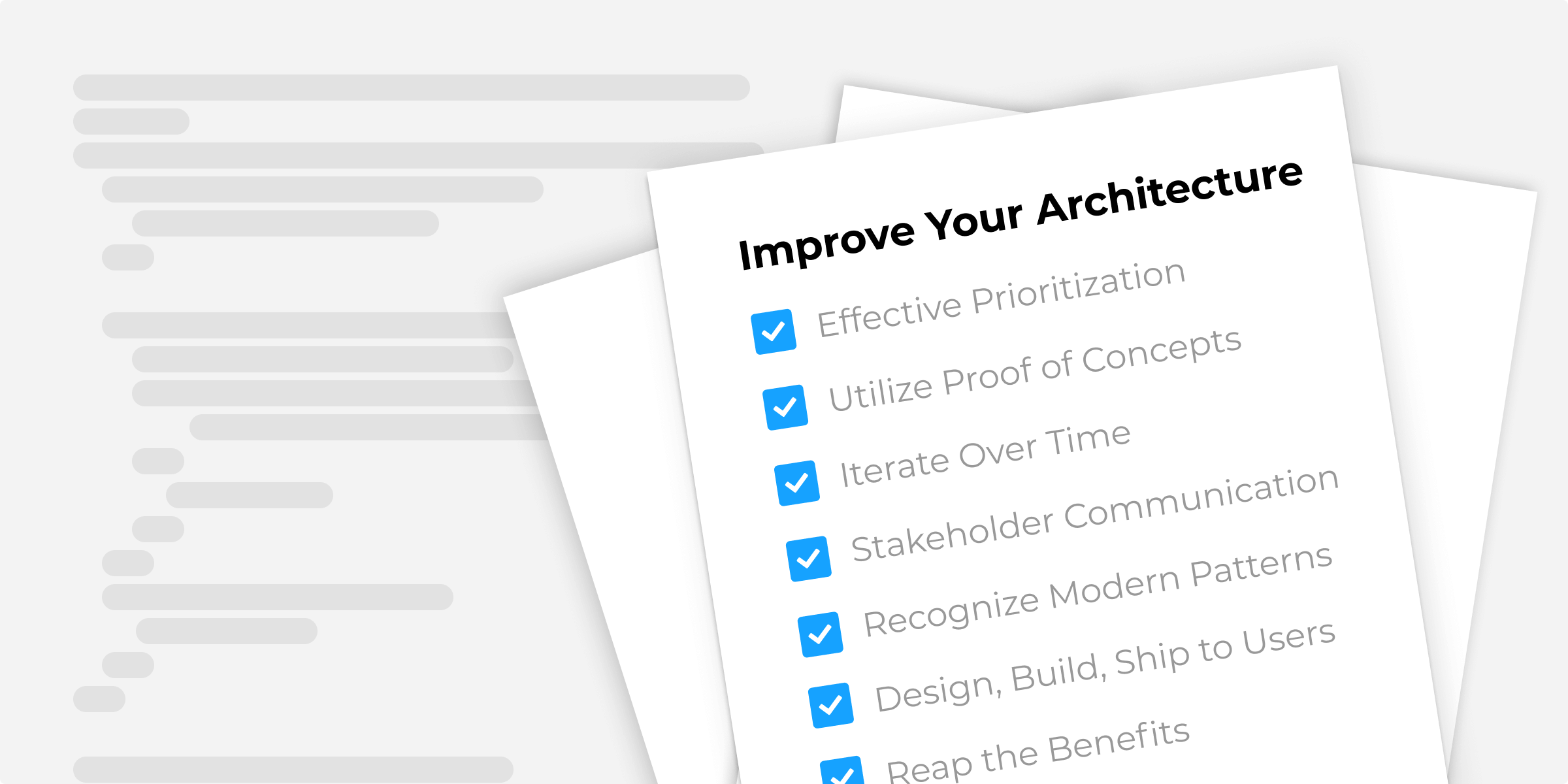 Improve your Software Architecture