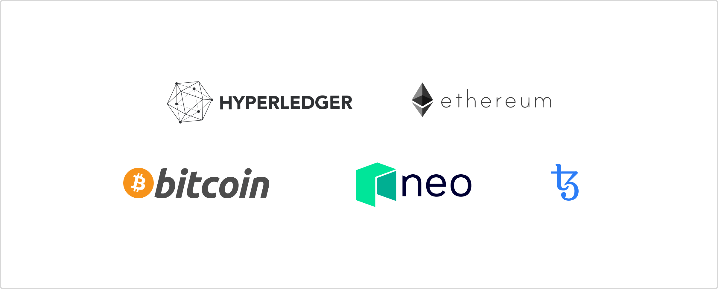 Example Blockchain Providers for Smart Contracts