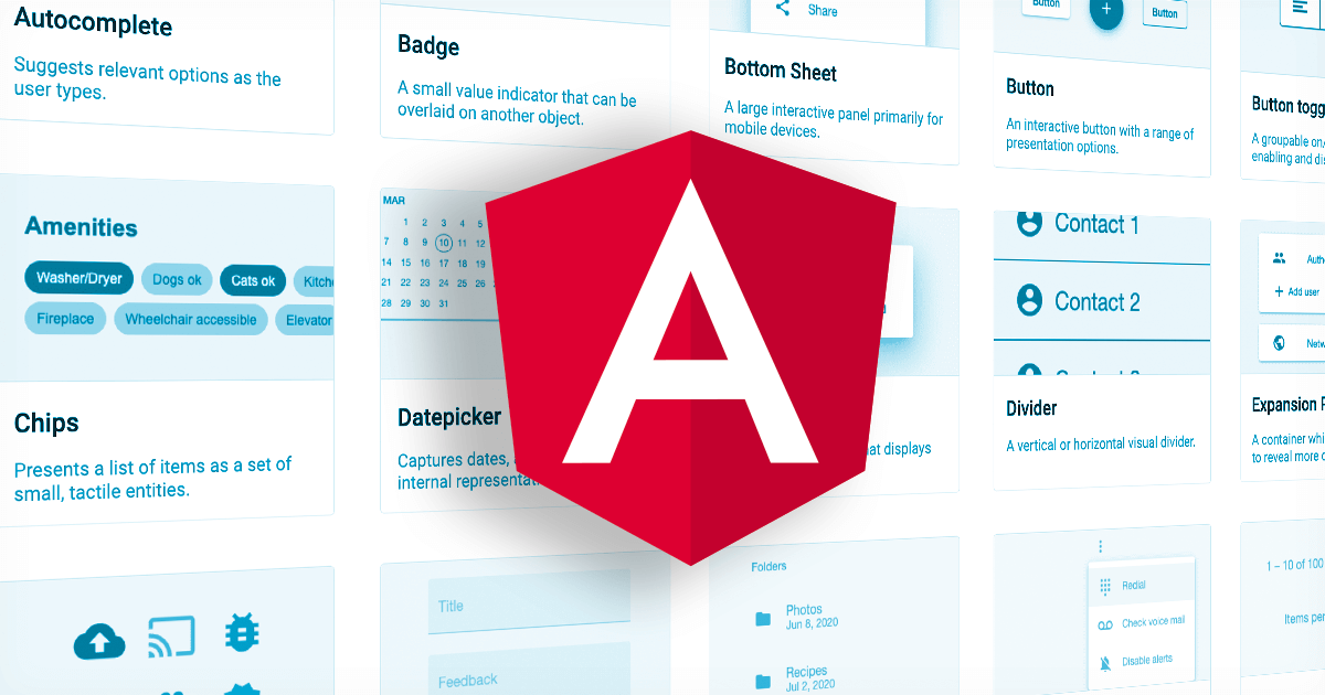 Angular Components Library: More Than Just Material