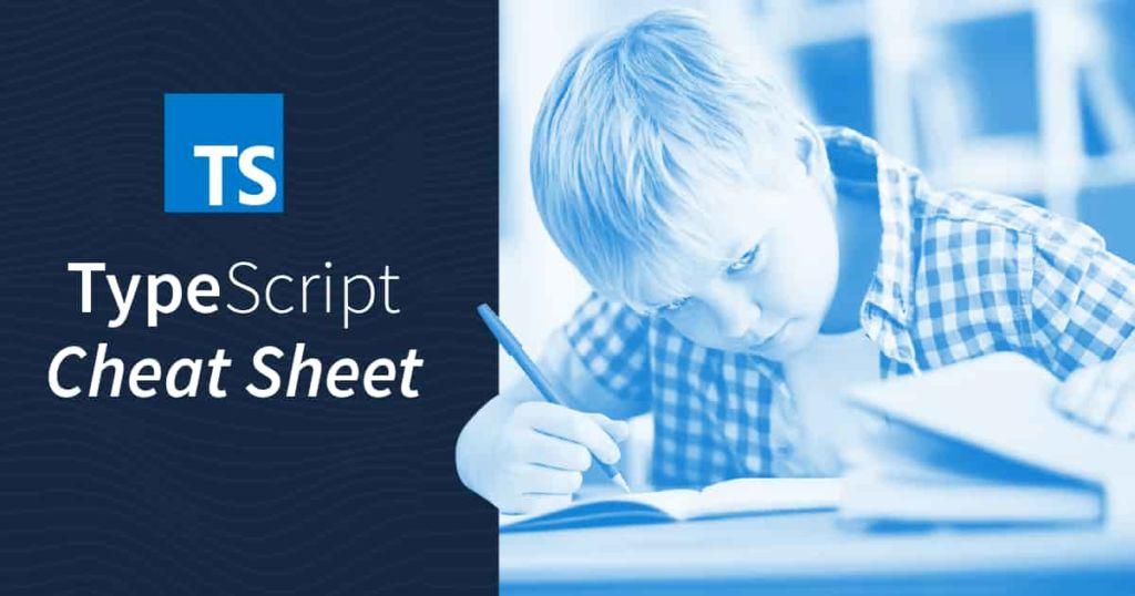 TypeScript 4.4 Cheat Sheet